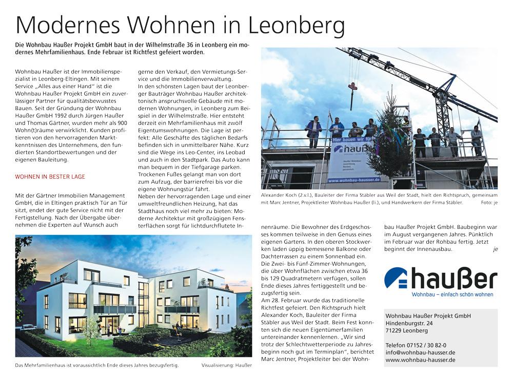 16.03.2019-Leonberger-Kreiszeitung_Richtfest