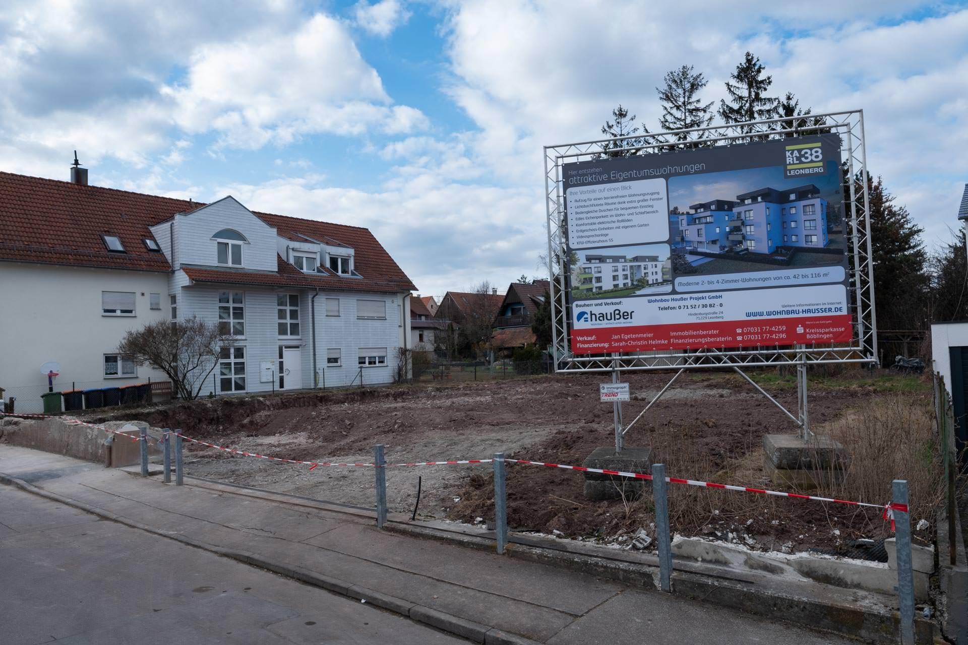 Wohnbau-Hausser_Baufortschritt_Leonberg_Karlstrasse_1
