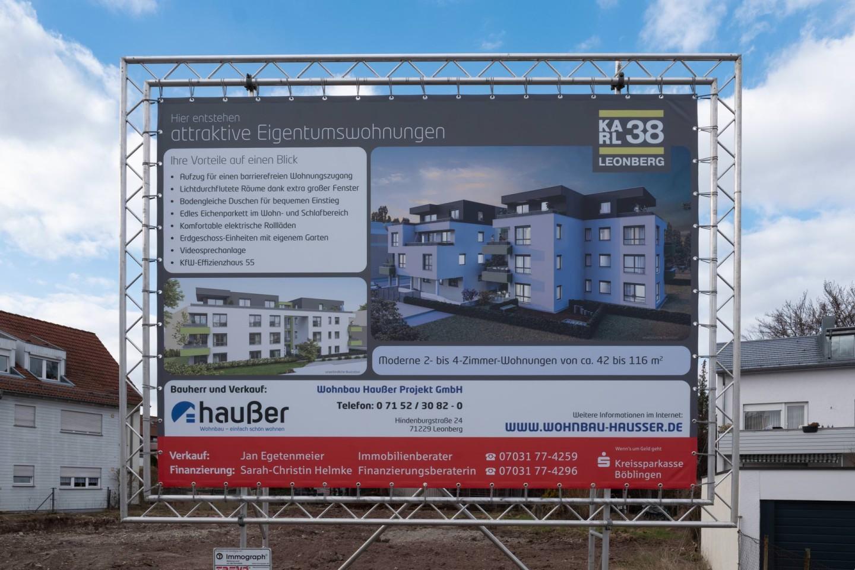 Wohnbau-Hausser_Baufortschritt_Leonberg_Karlstrasse_2