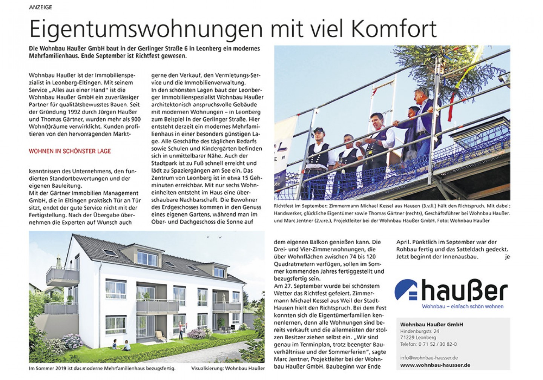 Seite---STZ--18-10-04-06.10.2018 Haußer Wohnbau PR-Seite halbe